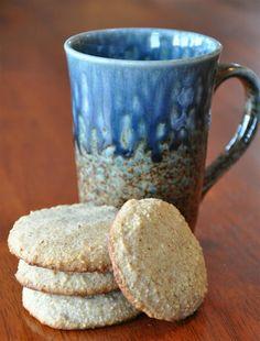 Almond Shortbread Cookies - gluten free