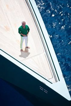 Luca Bassani Antivari, Founder and President of Wally Yachts _
