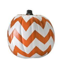 Chevron Pumpkin