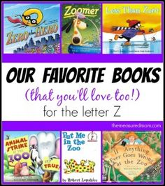 Books to Read for Letter Z - The Measured Mom