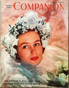 JUNE 1946 Woman's Home Companion - HATS - HAIRDOS - JUNE GARDENS - HOLLYWOOD