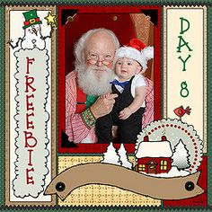 Today's Holly Daze FREEBIE will make it SUPER easy for you to create a Christmas scrapbook page... just add memories :) Get yours NOW! This freebie and today's sales will be gone at midnight EST!