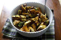 Fall-toush Salad wit
