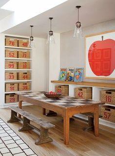 Rustic Children's Room by Trip Haenisch & Associates in Bel Air, California