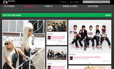 SparkRebel, a Pinterest for fashionistas.