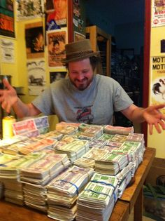 Wouldn't You Like To See What $2,615.50 Looks Like… All In One Place? As of February 27 2012, Corin had this much Canadian Tire Money, all piled up on his kitchen table. Amazing! Now, wouldn't you like to see what ten thousand of that looks like???
