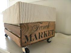 repurposed crate