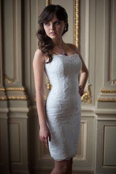 Justice of the peace wedding on pinterest tea length for Wedding dresses for justice of the peace