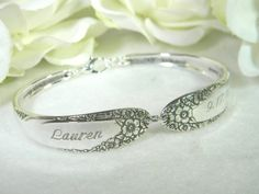 Love spoon bracelets and rings!!