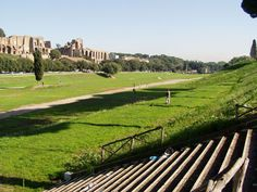 While there's not much left of the Circus Maximus, it looks like a lovely park for a picnic lunch.  Lazing around in the very locale where chariots used to race sounds intriguing.