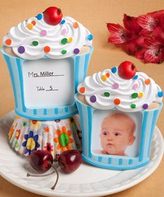 Cupcake Themed Party Favors on Pinterest