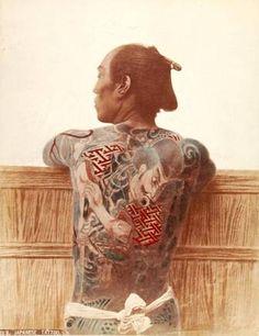 Japanese Tattoo, 1880