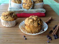 Pumpkin Oat Muffins by Dreena Burton, Plant-Powered Kitchen - low-fat, vegan, whole-grain!