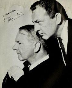 W.C. Fields and John Barrymore