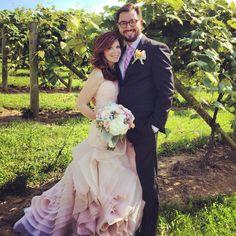 Wedding winery - so cute that match