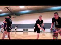 ▶ Dodgeball Tourney Raises Funds, Pits Student-Athletes Against UNI Students - YouTube