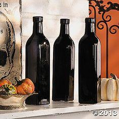 Black Bottle Vases