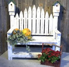 birdhouse bench plans free