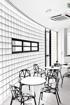 black and white #office