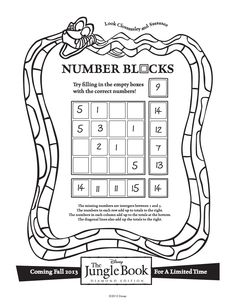 Can you find the missing numbers? #BareNecessities