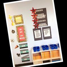 Hollywood classroom decor..behavior chart/rules star idea