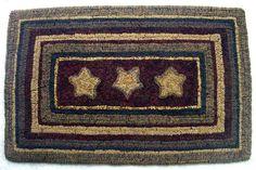 rug patterns, hook rug, rughook, primit rug, star, wool hooking, primitive rug hooking