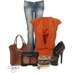 orange for fall..
