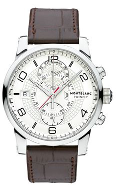 Montblanc TimeWalker TwinFly chronograph.