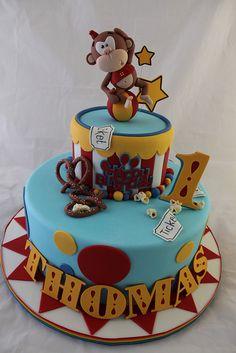 Circus Monkey cake