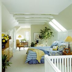 Jackie Braitman, Attic bedrooms - Cute!
