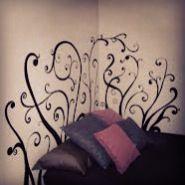 Cabeceros pintados que no ocupan espacio. Decopared.com
