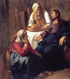 """Saint Martha pray for us and cooks, dieticians, hotel keepers,and servants.  Feast day July 29. IN THE BOOK OF THE HISTORY OF THE FRANKS, IT IS REPORTED THAT THE """"LAUNDRESS WAS WITH CHILD."""""""