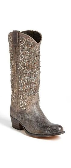 these boots were made to sparkle!