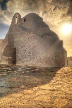 the church of Paraportiani, Mykonos island Greece.