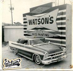 '56 Fury. Full Custom. Larry Watson paint.