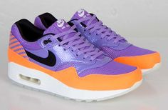 Nike Air Max 1 FB 'Atomic Violet & Total Orange'