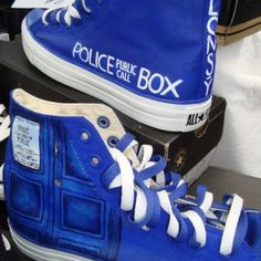Tardis shoes