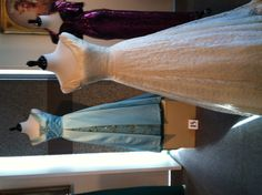Miss North Carolina gown, circa 1972, at the NC Museum of History in Raleigh