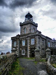 ISLE OF MAY - The Main Light.Scotland