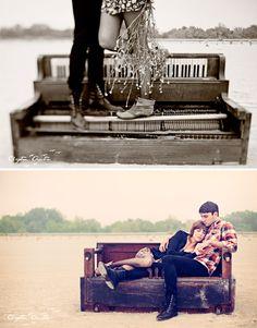 Piano Desert Love