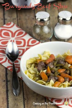 Slow Cooker Beef Burgandy Stew