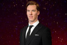 Waxwork Benedict Cumberbatch at Madame Tussauds