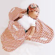baby swaddle blanket pattern