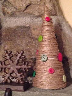 Rustic Christmas Tree by simplymadegreetings on Etsy, $12.00