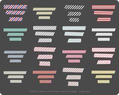 tape strips (patterns)