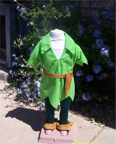 Peter Pan Adult costume custom made Tyrolean felt by Petiteleon,