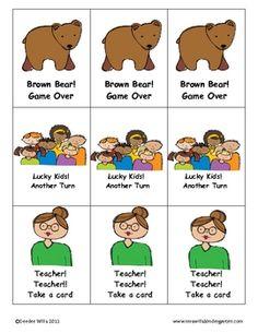 brown bear game