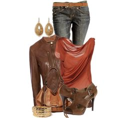 Fall Outfits   Leather Jacket or Not   Fashionista Trends