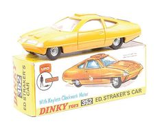 Dinky UFO Ed Strakers Car.