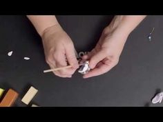Creating a Polymer Clay Nesting Bird Focal Bead - YouTube